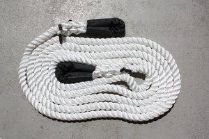 wit KERR kinetisch touw - snatch strap 8 meter 10 ton
