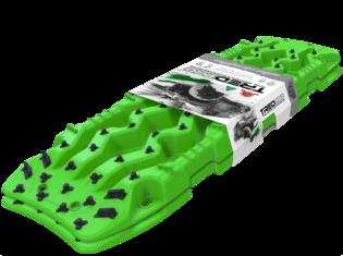 TRED PRO 4x4  4WD rijplaten - zandplaten fel groen