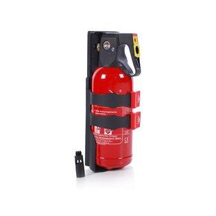 2 Liter Sproeischuim brandblusser + crashtest houder