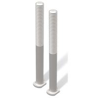 TRED PRO montage kit verlengpennen voor rijplaten - zandplaten.