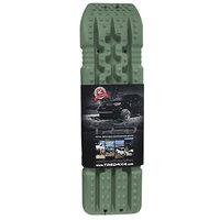 set TRED 1100 4x4 4WD rijplaten - zandplaten legergroen - armygreen