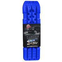 set TRED 1100 4x4 4WD rijplaten - zandplaten blauw blue
