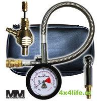 Mean Mother bandendruk aflater- en drukmeter in set - tire deflater set