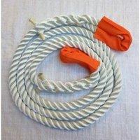 Kracht verdeel touw wit 2 meter bij Snatch Strap - KERR - kinetische lijn
