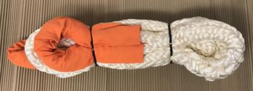KERR kinetisch touw - snatch strap 8 meter 12 ton