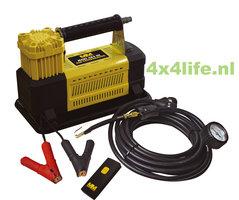 MEAN MOTHER MAXI III 4X4 lucht compressor set 12 volt - 110 l/min