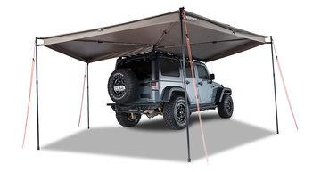 Rhino-Rack Batwing 33200 4x4 luifel 270 graden, montage rechts 250 cm.