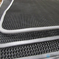 KOALA CREEK® daktent SLEEP BEST grijze matras anti-condens mat 140 x 240 cm dik 10 mm.