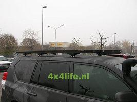 UPRACKS Toyota Landcruiser (prado) 120 - 150 roofrack - dakrek 214 X 129 cm.
