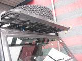 UPRACKS 63-A0092 ABS spoiler voor dakrek-roofrack breed 129 cm.