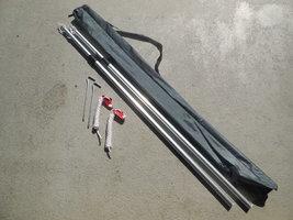 KOALA CREEK luifel stokken set 215 cm aluminium verstelbaar