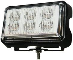 Xtrek 6 LED ORANJE STROBOSCOOP flitser zwaailamp 12-24 volt met montagebeugel