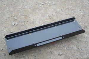 UNIVERSELE LIER MONTAGEPLAAT 700 x 190 x 6 mm zwart