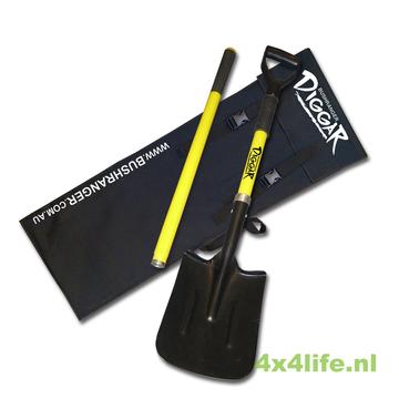 Bushranger DIGGAR shovel recovery schop -  3 delig